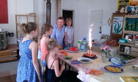 Urodziny w pracowni dla dzieci